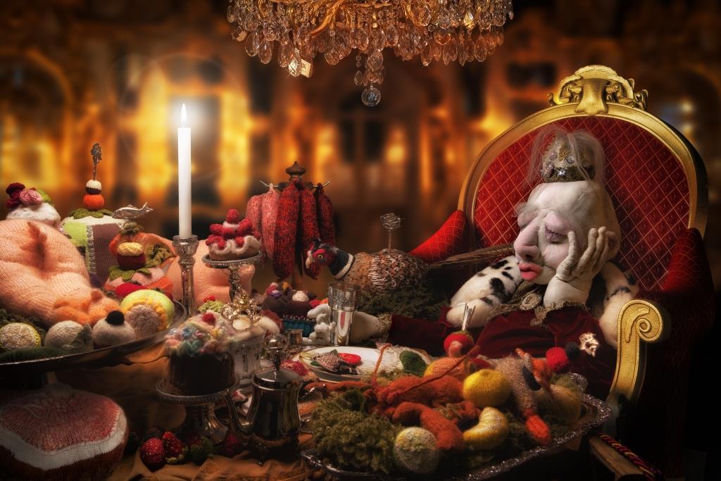 Le festin du roi en attendant L'enfant...