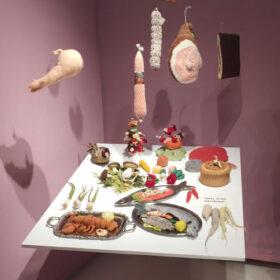Madame Tricot Kultur kocht Ausstellung