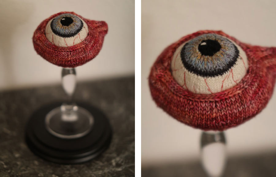 Madame Tricot Reliquare Das Auge